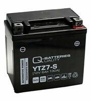 YTZ7-S Q-Batteries 12v 6ah AGM SEALED MOTORCYCLE BIKE BATTERY (CTZ7-S)