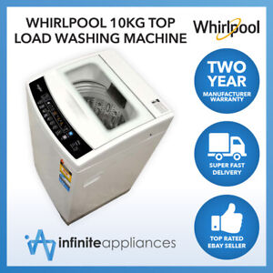 Whirlpool 10kg 73L Top Load 6 Program Washing Machine Washer (WB10037)