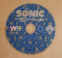Nintendo Wii game - Sonic and the Black Knight - disc only