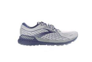 Brooks Mens Adrenaline Gts 21 Gray Running Shoes Size 9.5 (2E) (2217959)