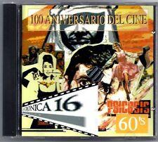 MUSICA DE CINE AÑOS 60's  - Film songs - SPAIN CD Alfa Delta 1995 - Nuevo / New