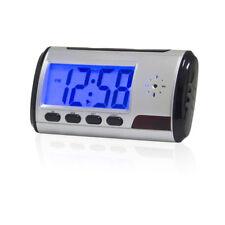Remote Digital Alarm Clock Mini Spy Hidden Camera DVR USB Motion Video Recorder