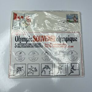 E Olympic 76 Souvenir 5 Cancellations FDC International Canada Series C