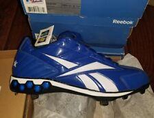 NEW Reebok Mens High N Tight II Low Hex Metal Baseball Cleats Size 13.5 Blue $90