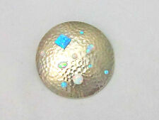 Handmade Vintage 925 Sterling Silver Large Pendant, various colors Fire Opals