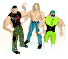 WWF WWE TNA Wrestling lot  MATT HARDY, TRIPLE H & MASKED FURY figures NICE