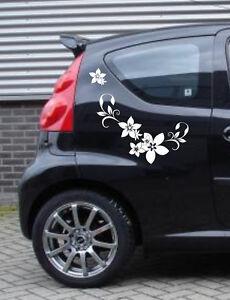 Autotattoo Ranke klein Autobeschriftung Aufkleber Blüte Sticker Autoaufkleber