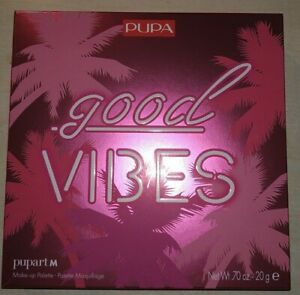 PUPA GOOD VIBES pupart m NUOVO trousse Make Up Palette Maquillage trucchi trucco