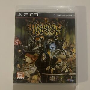RARE! Dragons Crown + Booklet Playstation 3 PS3 TESTED! (Disc Nearly Mint)