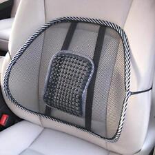 Mesh Design Home Car Seat Chair Back Massage Brace Backrest  Waist Cushion Pad