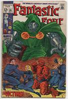 Fantastic Four 86 Marvel 1969 VG FN Dr Doom Jack Kirby Stan Lee
