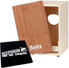 Sela SE001 Snare Cajon Bausatz + KEEPDRUM Sitzpad CP-01