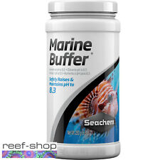 Seachem Marine Buffer 250 gram Saltwater Aquarium pH Alkalinity Stability Powder