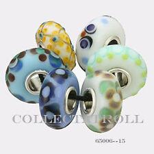 Authentic Trollbeads Silver Universal  Kit - 6 Beads Trollbead 65006 *15*