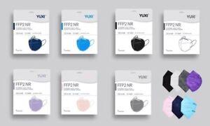 YUXI FFP2 Erwachsenenmasken in vielen Farben - 10 Stück