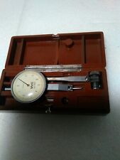 "Vme Dial Test Indicator 654876 Japan with Case 0.0001"" Pic-Test read"