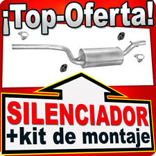 Silenciador Intermedio FORD FOCUS 1.6 16V 100PS 1998-2004 Centro Escape PPN