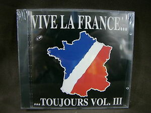 Vive la France toujours vol 3 SIGILLATO SEALED CD