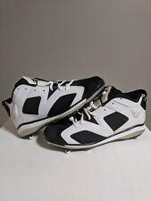 RARE OG Men's Air Jordan 6 VI low Retro TD Cleat 645419-110 Oreo Black White