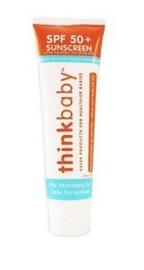 Thinkbaby Safe Sunscreen SPF 50+, 3 ounce