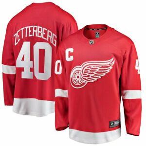 FANATICS NHL OFFICIAL LICENSED BREAKAWAY JERSEY DETROIT RED WINGS #40 ZETTERBERG