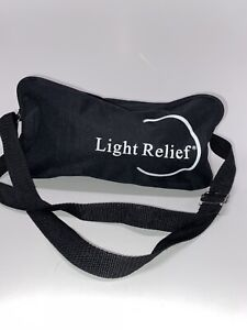 LIGHT RELIEF LR150~Infrared Pain Relief Therapy Device W/ Bag, Manual & Adapter