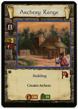 Archery Range (2) - Age Of Empires ECG CCG Card (C96)