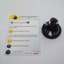 Heroclix Iron Man 3 Movie set Extremis Mercenary #105 Starter set figure w/card!