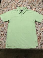 Mens Oakley Golf Polo Shirt Light Green  Short Sleeve Regular Fit S Size Small