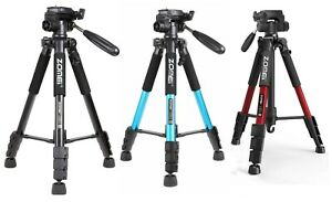 ZOMEi Q111 Travel Camera Tripod Kit 55-inch for DSLR Camcorder Phone Photography
