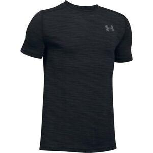 Under Armour Boy's Threadborne Seamless Junior Training T-Shirt Running Top Tee