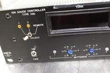 MKS 290 Ion Gauge Controller