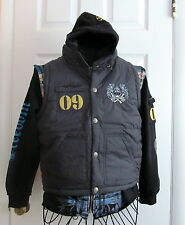 New Ed Hardy Boys Hoodie and Vest Combo Size L
