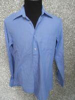 180 009 HUGO BOSS Hemd KW 41 L blau mittelblau  Langarm  Button Down Kragen
