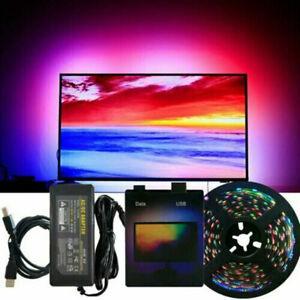 DIY TV WS2812B 5050 LED Strip Light Tape Computer PC Dream Screen Backlight 5V