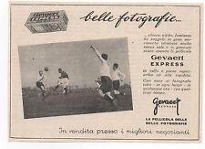 Pubblicità epoca PELLICOLE FILM GEVAERT FOTO PHOTO old advert werbung publicitè
