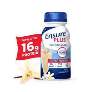 Ensure Plus 8 oz. Bottle Nutrition Shake Case of 24