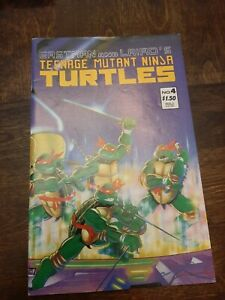 Eastman and Laird's Teenage Mutant Ninja Turtles #4 May 1987