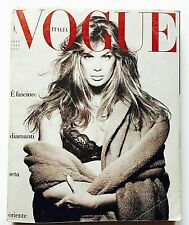 Vogue Italia 462 settembre 1988 september Herb Ritts Rachel Hunter Steven Meisel