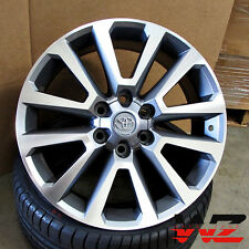"22"" Toyota Factory Style Platinum 6x139.7 Wheels Fits Tundra FJ Cruiser Sequoia"