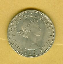 NEW ZEALAND 1963 SHILLING--UNCIRCULATED