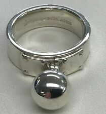 Tiffany & Co Sterling Silver Dangle Hardware Ball Ring