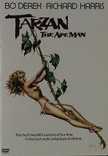 TARZAN THE APE MAN (1981 Richard Harris, Bo Derek) DVD - UK Compatible - Sealed