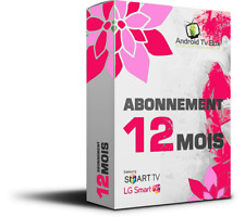 Abonnement IP TV 12 mois,Avec Adultes , Smart TV,m3u  Box, MAG, Android, iOS
