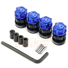 Hot Racing Aluminum 17mm Hex Hub Wheel Adapters Set For Traxxas E-Revo #ERV10X06