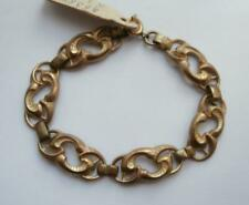 BN Vintage 1910's-1920's Art Nouveau Design Gold Metal Bracelet by Jakob Bengel