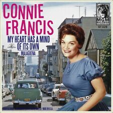 """7"""" CONNIE FRANCIS My Heart Has A Mind Of Its Own/Malaguena MGM German-Press 1960"""