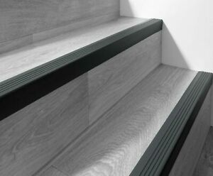 118 cm Stair anti slip nosing rubber angle step edge RGP 50x42mm Various colours