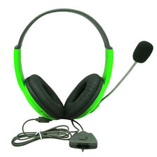 Wired Gaming Headset Headphone Controller with Mic for Xbox 360