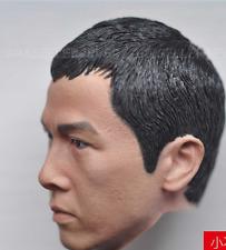 "1/6 Scale Asian Actor Head Sculpt Donnie Yen Carving For 12"" Action Figure"